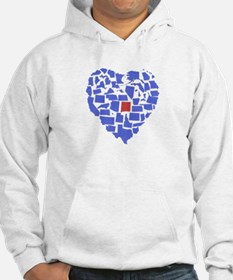 New Mexico Heart Hoodie