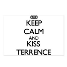 Keep Calm and Kiss Terrence Postcards (Package of