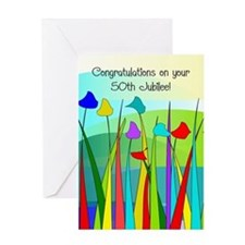 Nuns 50th jubilee Greeting Cards