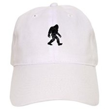 Bigfoot Silhouette Baseball Baseball Cap