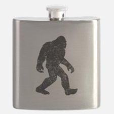 Bigfoot Silhouette Flask