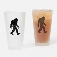 Bigfoot Silhouette Drinking Glass