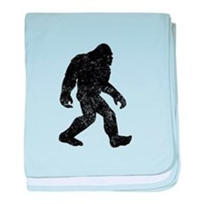 Bigfoot Silhouette baby blanket