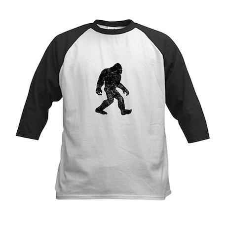 Bigfoot Silhouette Baseball Jersey
