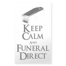Keep Calm and Funeral Direct Decal