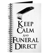 Keep Calm and Funeral Direct Journal