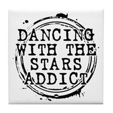 Dancing With the Stars Addict Tile Coaster