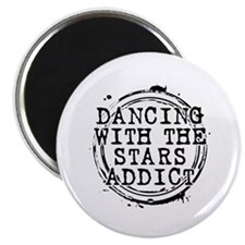 """Dancing With the Stars Addict 2.25"""" Magnet (100 pa"""
