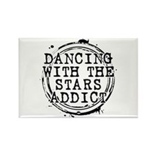 Dancing With the Stars Addict Rectangle Magnet