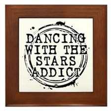 Dancing With the Stars Addict Framed Tile