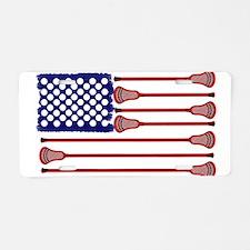 Lacrosse Americas Game Aluminum License Plate