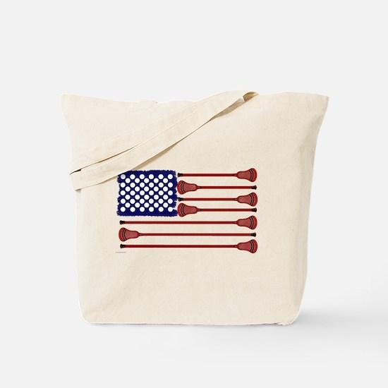Lacrosse Americas Game Tote Bag