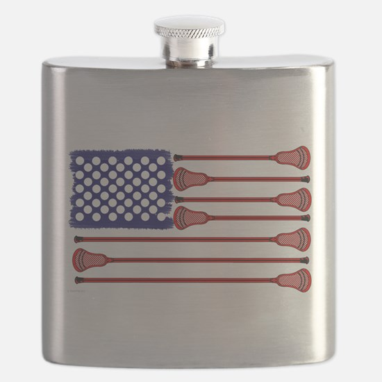 Lacrosse Americas Game Flask