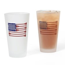 Lacrosse Americas Game Drinking Glass