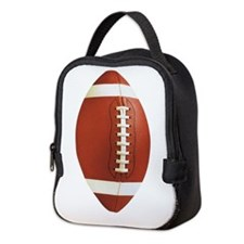 Football Neoprene Lunch Bag