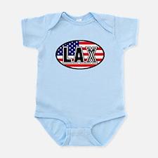 Lacrosse America Oval Infant Bodysuit