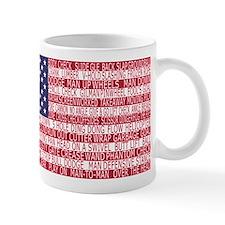 Lacrosse Defense Flag Mugs