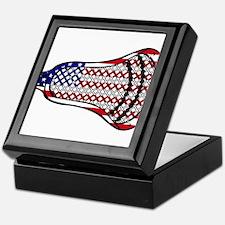 Lacrosse Flag Head 600 Keepsake Box