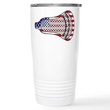 Lacrosse Flag Head 600 Travel Mug