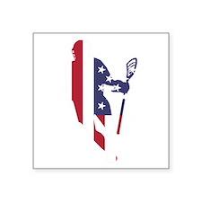 Lacrosse IRollMericaVert. Sticker