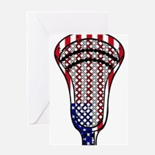 Lacrosse_HeadFlag - Copy.png Greeting Cards