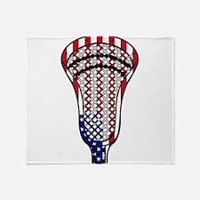Lacrosse_HeadFlag - Copy.png Throw Blanket