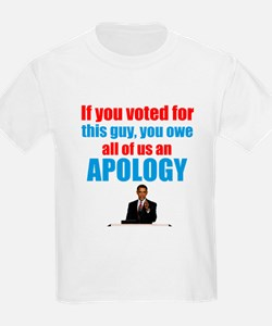 if you voted for obama, you owe all of us an apolo
