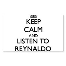 Keep Calm and Listen to Reynaldo Decal