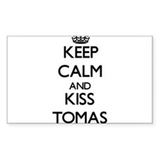 Keep Calm and Kiss Tomas Decal