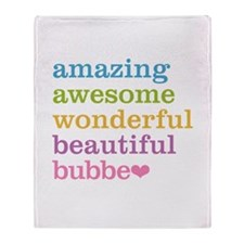 Bubbe - Amazing Awesome Throw Blanket