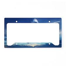 Airplane License Plate Holder