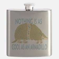 Nothing as cool as an armadillo Flask