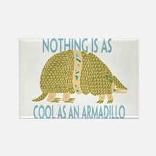 Nothing as cool as an armadillo Rectangle Magnet
