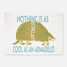 Nothing as cool as an armadillo 5'x7'Area Rug