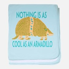 Nothing as cool as an armadillo baby blanket