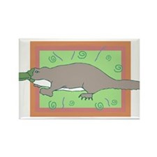 Platypus Rectangle Magnet