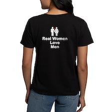 Real Women Love Men T-Shirt
