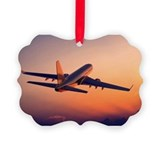 Airplane Picture Frame Ornaments