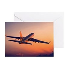 Airplane Greeting Card