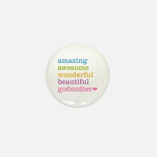 Godmother - Amazing Awesome Mini Button