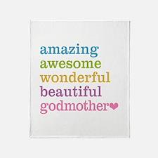Godmother - Amazing Awesome Throw Blanket