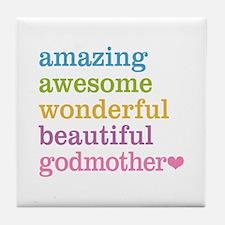 Godmother - Amazing Awesome Tile Coaster