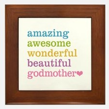 Godmother - Amazing Awesome Framed Tile