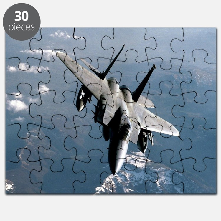 Fighter Jet Puzzle