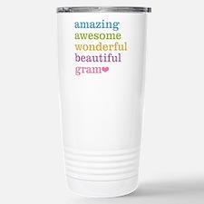 Gram - Amazing Awesome Travel Mug