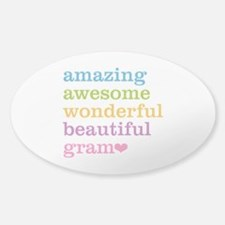 Gram - Amazing Awesome Decal