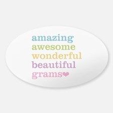 Grams - Amazing Awesome Decal