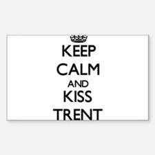 Keep Calm and Kiss Trent Decal