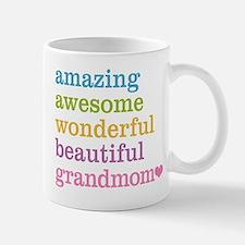 Grandmom - Amazing Awesome Mug