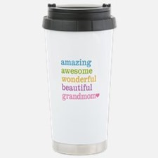 Grandmom - Amazing Awes Travel Mug